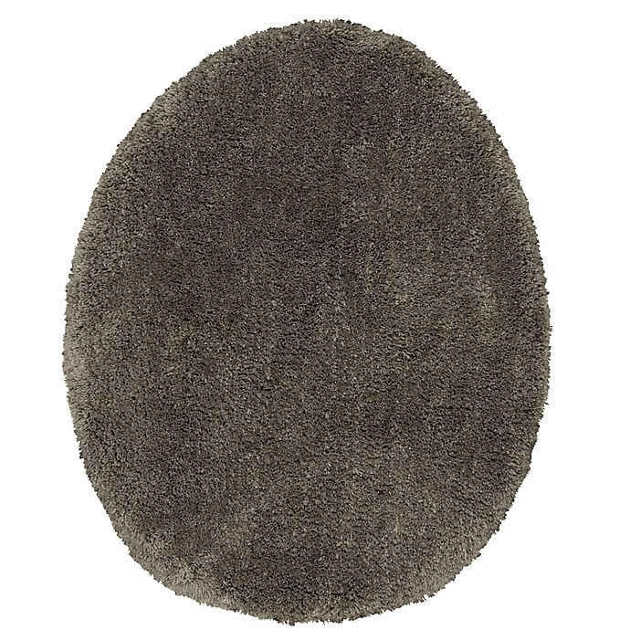 Alternate image 1 for Wamsutta® Aire Universal Toilet Lid Cover in Charcoal