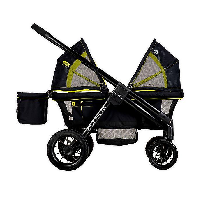 Alternate image 1 for Evenflo® Pivot Xplore™ All-Terrain Double Stroller Wagon