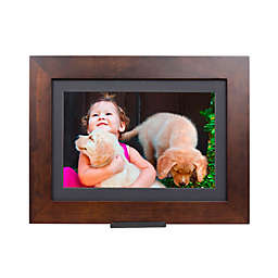 Brookstone® PhotoShare Friends and Family Medium Smart Frame in Espresso
