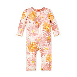 Burt's Bees Baby® Autumn Picks Ruffle Back Long Sleeve Jumpsuit
