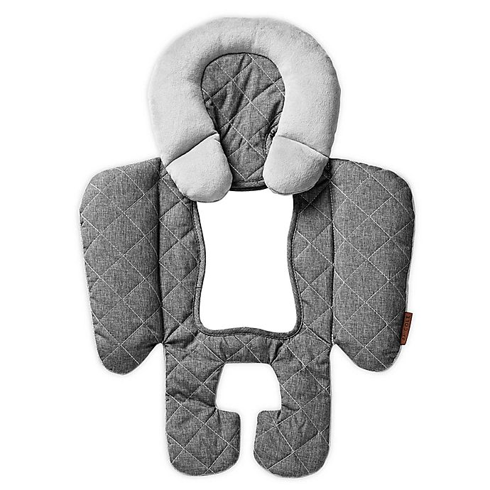 Alternate image 1 for JJ Cole Reversible Body Support-Hther Grey Quilted