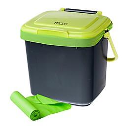 MAZE 1.85-Gallon Kitchen Caddie with MAZE Corn Bags
