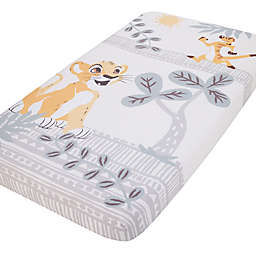 Disney® Lion King Photo Op Fitted Crib Sheet in Gold