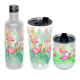 Flamingo Insulated Wrap Drinkware