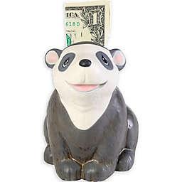 Precious Moments® Bear Keepsake Piggy Bank in Black