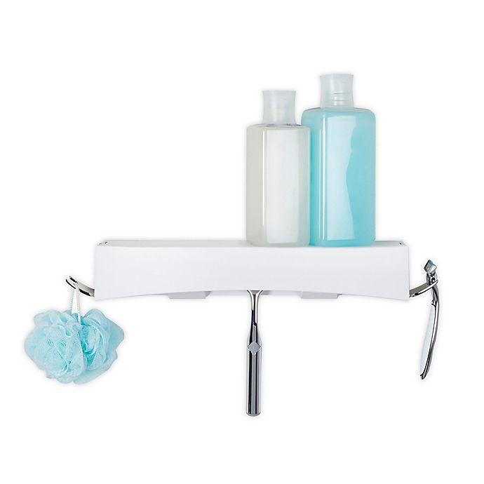 Alternate image 1 for Better Living CLEVER Flip Shower Shelf
