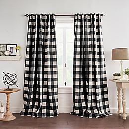 Grainger Check Blackout Window Curtain Panel