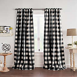 Grainger Check Blackout Window Curtain Panel (Single)