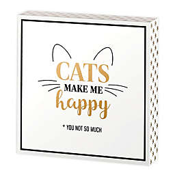 Lillian Rose™ Cat Lover Sign in White