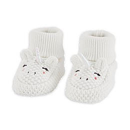 carter's® Newborn Crochet Unicorn Booties in Ivory