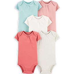 carters® 5-Pack Short-Sleeve Original Bodysuits