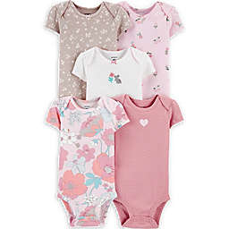 carters® 5-Pack Floral Original Bodysuits