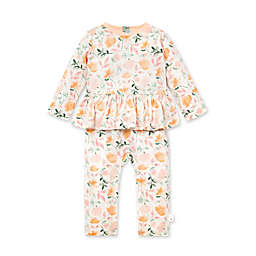 Burt's Bees Baby® Size 3M Montana Meadow Jumpsuit in Ivory