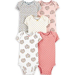 carter's® 5-Pack Floral Original Bodysuits
