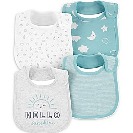 carter's® 4-Pack Hello Sunshine Bibs