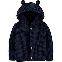 carter's® Hooded Cardigan in Navy