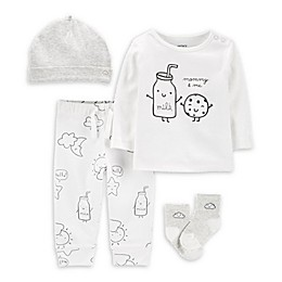carter's® 4-Piece Cookie Take-Me-Home Set in White