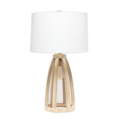 Beyond Canada Marbleized Table Lamp