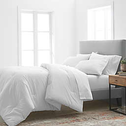 Grand Hotel Estate 1000 Thread Count 3-Piece King Comforter Set in White