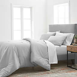 Grand Hotel Estate 1000 Thread Count 3-Piece King Comforter Set in Grey