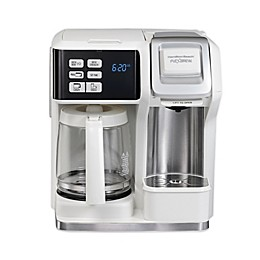 Hamilton Beach® FlexBrew® 2-Way Coffee Maker in White