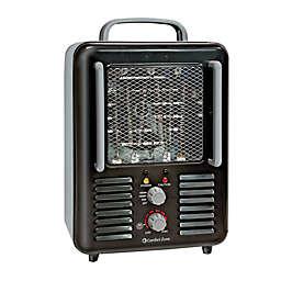 Comfort Zone® CZ798BK Thermostat/Fan Utility Heater in Black