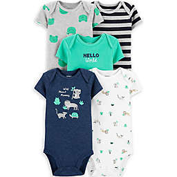 carter's® 5-Pack Frog Bodysuits