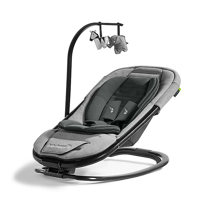 Alternate image 1 for Baby Jogger® city sway™ 2-in-1 Rocker and Bouncer in Graphite