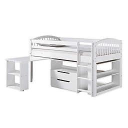 Addison Twin Loft Bed with Storage