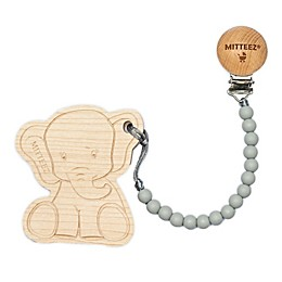 MITTEEZ™ TEETHING BUDDIES™ Ella the Elephant Teether and Clip