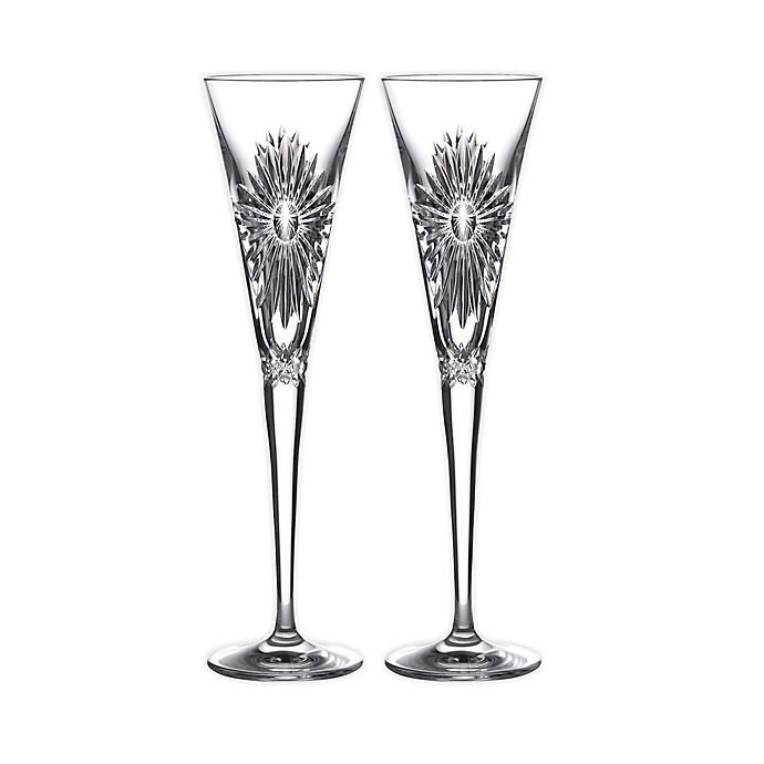 Waterford 2021 Times Square Champagne Flutes Set Of 2 Bed Bath Beyond