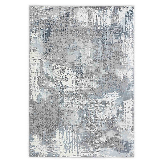 Alternate image 1 for Home Dynamix Skyler Maurice 5' x 7' Area Rug in Dark Gray
