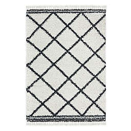 Home Dynamix Onyx Fiore 5' x 7' Area Rug in Ivory
