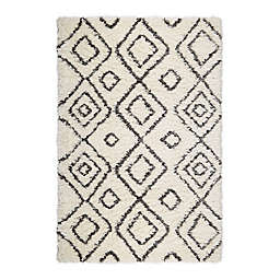 Home Dynamix Laura Hill Cambridge Brooks 8' x 10' Area Rug in Ivory/Gray