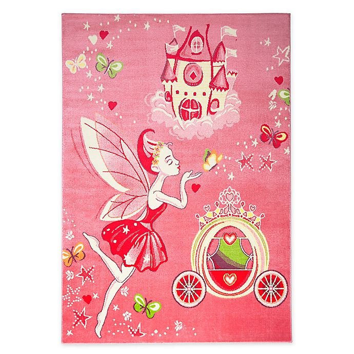Alternate image 1 for Home Dynamix Playground Fairy Princess Area Rug