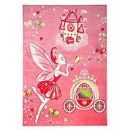 Home Dynamix Playground Fairy Princess Area Rug