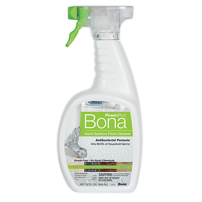 Alternate image 1 for Bona PowerPlus® 32 oz. Hard-Surface Floor Cleaner