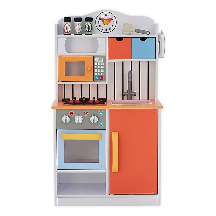Alternate image 1 for Teamson Kids Little Chef Florence Classic Play Kitchen in Red