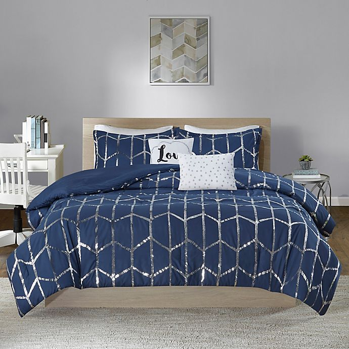 Alternate image 1 for Intelligent Design Raina Bedding Collection