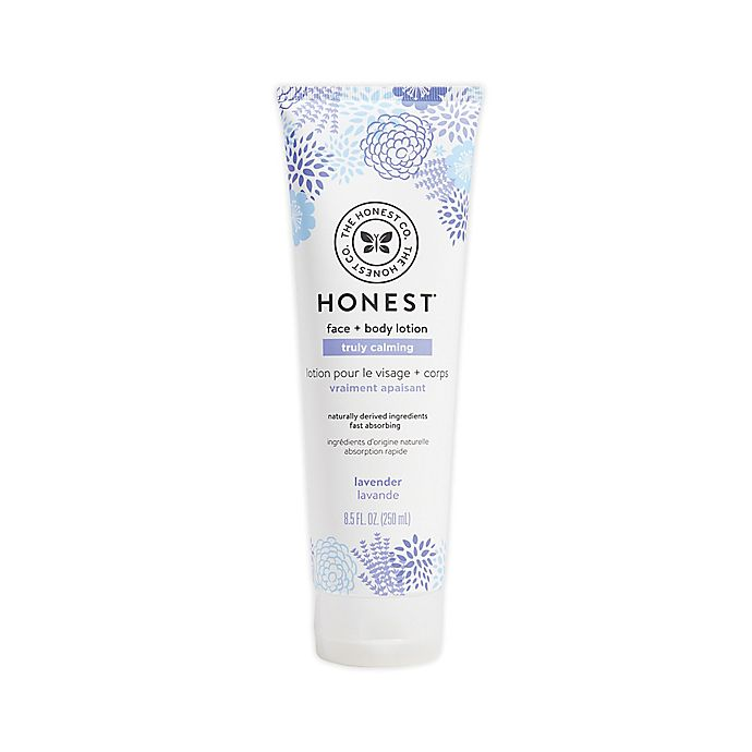 Alternate image 1 for Honest 8.5 oz. Face and Body Lotion in Dreamy Lavender