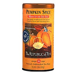 The Republic of Tea Pumpkin Spice Black Tea 50-Count