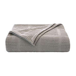 Kenneth Cole New York® Essentials Waffle Grid Blanket Collection