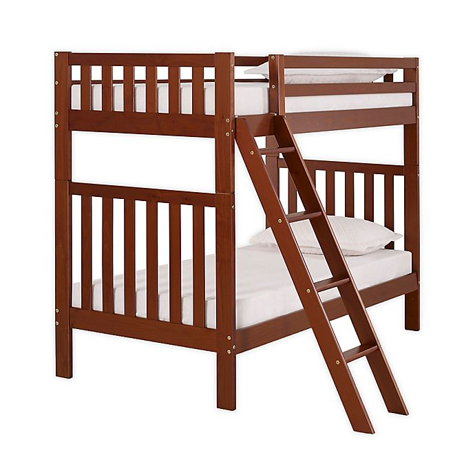 Alternate image 1 for Aurora Twin Bunk Bed in Chestnut