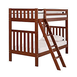 Aurora Twin Bunk Bed in Chestnut