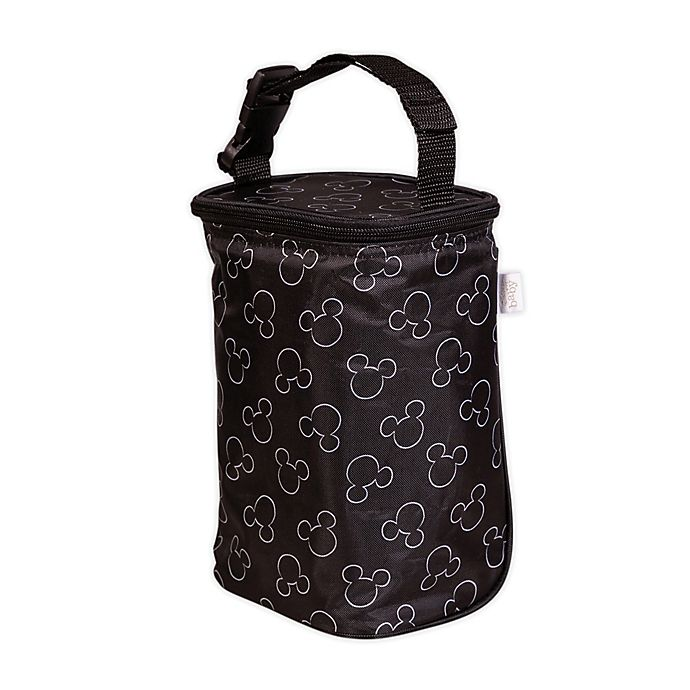 Alternate image 1 for J.L. Childress Disney Baby® TwoCOOL™ Insulated 2-Bottle Cooler in Black