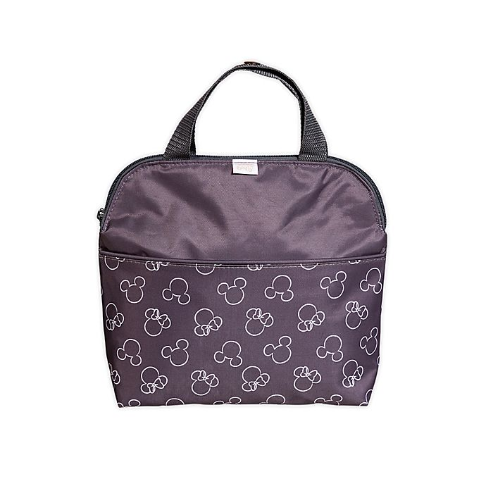Alternate image 1 for J.L. Childress Disney Baby® MaxiCOOL™ Insulated 4-Bottle Cooler Bag in Grey