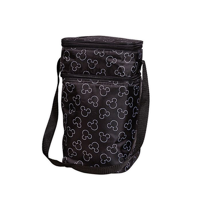Alternate image 1 for J.L. Childress Disney Baby® Insulated 6-Bottle Cooler Tote in Black