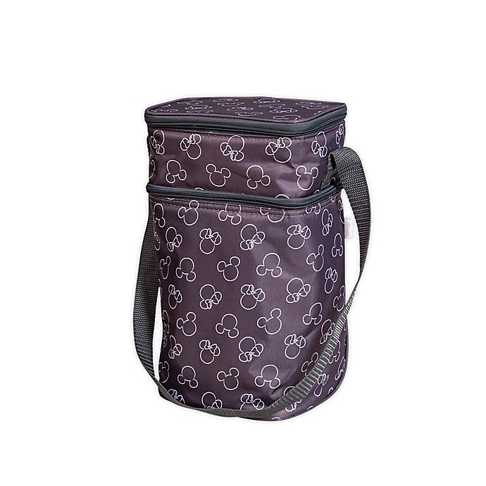 Alternate image 1 for J.L. Childress Disney Baby® Insulated 6-Bottle Cooler Tote in Grey