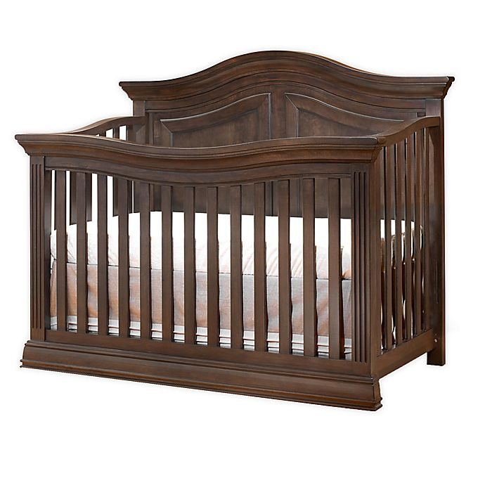 Alternate image 1 for Sorelle Providence 4-in-1 Convertible Crib in Chocolate