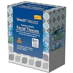 Smart Values™ 3-Pack Premium Quality Facial Tissues